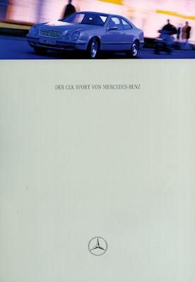 Mercedes-Benz CLK Coupé Elegance / Sport Prospekt 1997
