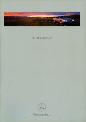 Mercedes-Benz CLK Cabriolet Prospekt 1999