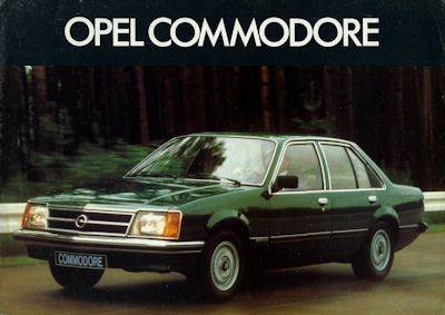 Opel Commodore Prospekt ca. 1978 nl