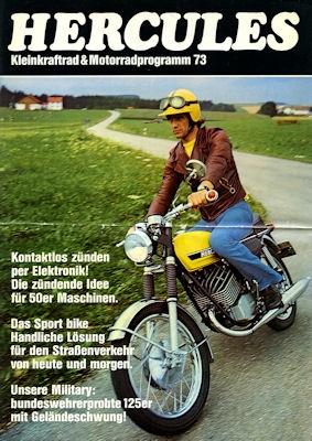 Hercules Kleinkraftrad & Motorradprogramm 1973