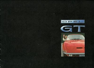 Opel GT Prospekt ca. 1969 f