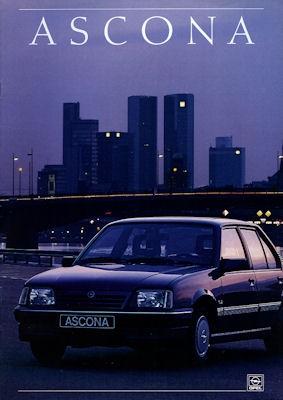 Opel Ascona Prospekt 1988