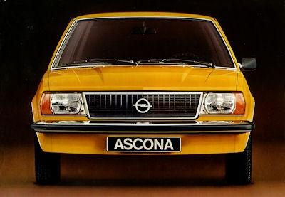 Opel Ascona B Prospekt 7.1975