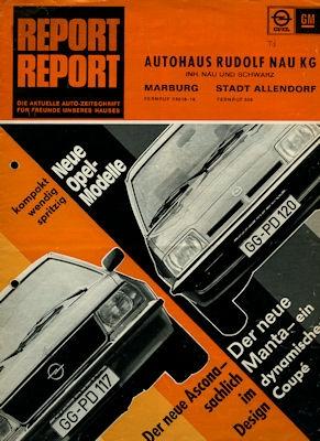 Opel Report 9.1975