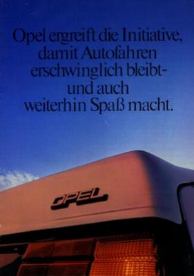 Opel Programm 1982