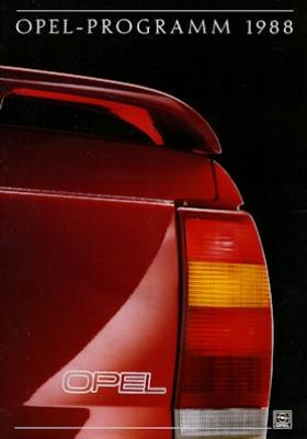Opel Programm 1988