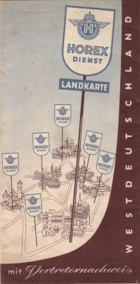 Horex Vertreternachweis 1953