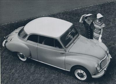 Foto DKW 3=6 1950er Jahre