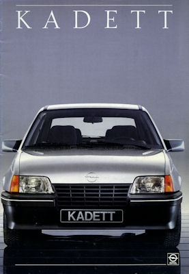 Opel Kadett D Prospekt 11.1986