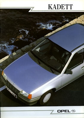 Opel Kadett E Prospekt 9.1988