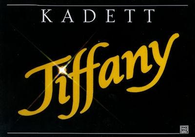 Opel Kadett E Tiffany Prospekt 1.1988