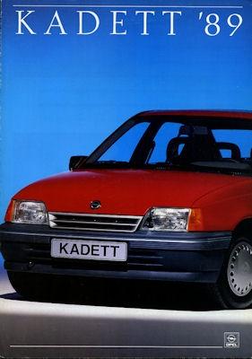 Opel Kadett E Prospekt 1.1989