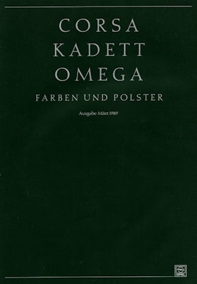 Opel Farben 3.1989