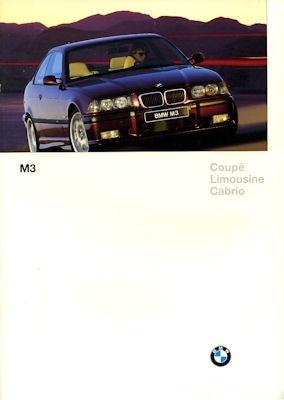 BMW M 3 Prospekt 1997