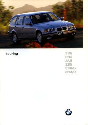 BMW 3er touring Prospekt 1997