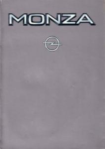 Opel Monza Prospekt 12.1982