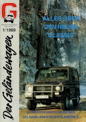 Mercedes-Benz Der Geländewagen 1.1989