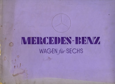 Mercedes-Benz Wagen für Sechs Prospekt 2.1934