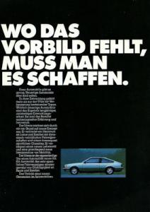 Opel Monza Prospekt 5.1978