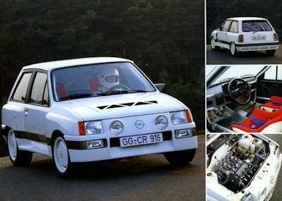 Opel Corsa Sprint Prospekt 9.1983