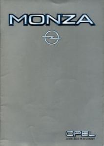 Opel Monza Prospekt 5.1983