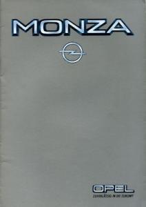 Opel Monza Prospekt 3.1984