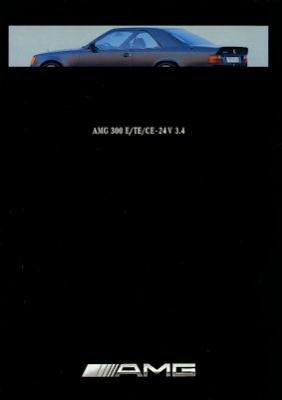 Mercedes-Benz 300E/TE/CE-24V 3.4 AMG Prospekt ca. 1990