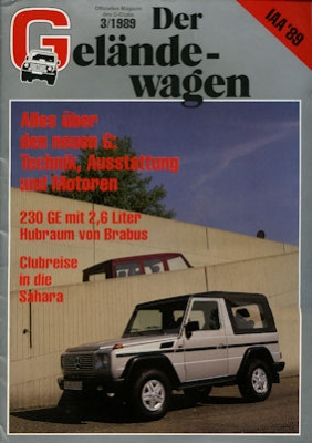 Mercedes-Benz Der Geländewagen 3.1989