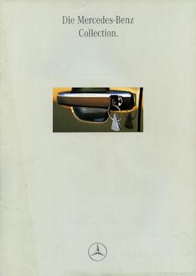 Mercedes-Benz Collection Prospekt 1994