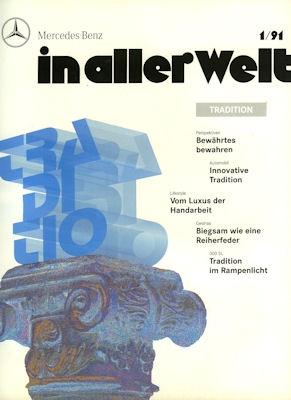 Mercedes-Benz In aller Welt Nr. 1 1991