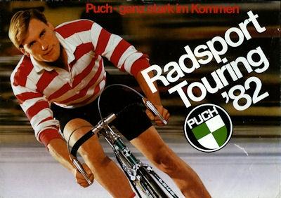 Puch Radsport Programm 1982