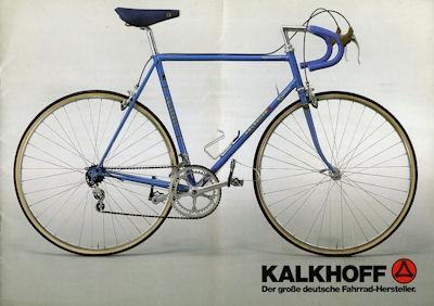 Kalkhoff Rennrad Programm 1983