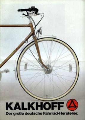 Kalkhoff Fahrrad Programm 1980er Jahre