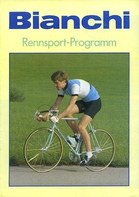 Bianchi Fahrrad Rennsport Programm 9.1984