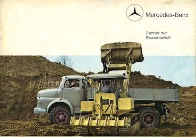 Mercedes-Benz Programm Baufahrzeuge 1964