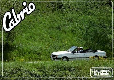 Opel Ascona Cabriolet Prospekt 1980er Jahre