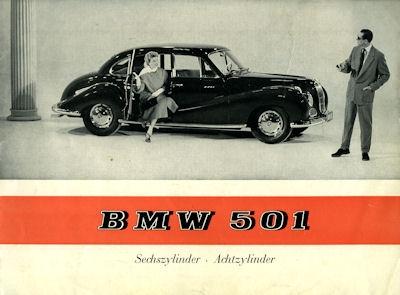BMW 501 Prospekt 11.1955