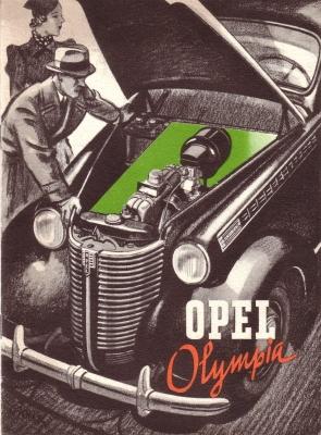 Opel Olympia Prospekt 1930er Jahre