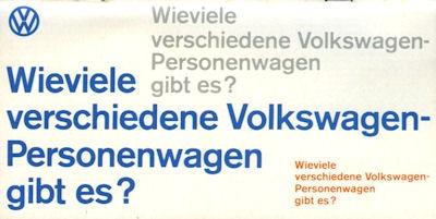 VW Programm 8.1965 0