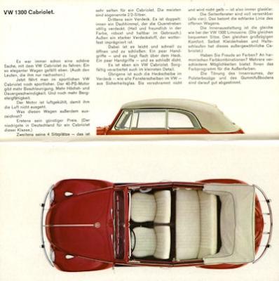 VW Programm 8.1965 1