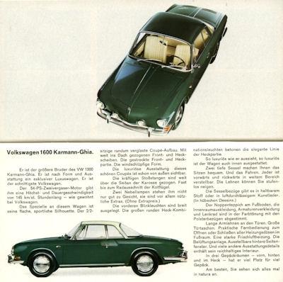 VW Programm 8.1965 2