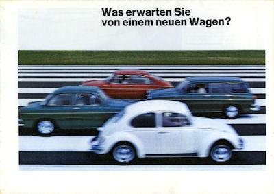VW Programm 1969