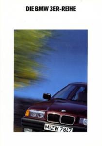 BMW 316 318i 320i 325i Prospekt 1991