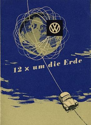 VW Kdf Wagen Nr.3 Prospekt ca. 1952