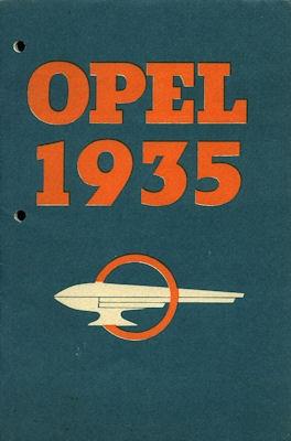 Opel Programm 1935