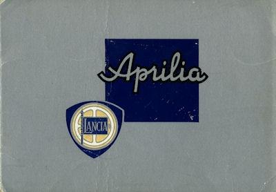 Lancia Aprilia Prospekt 1930er Jahre
