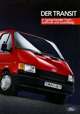 Ford Transit Prospekt 1986