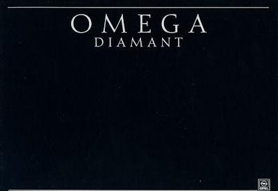 Opel Omega Diamant Prospekt 1990