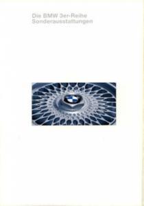 BMW 3er Sonderausstattung Prospekt 1994