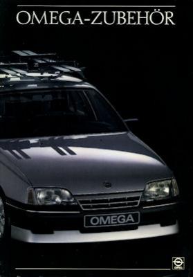 Opel Omega Zubehör Prospekt 1987
